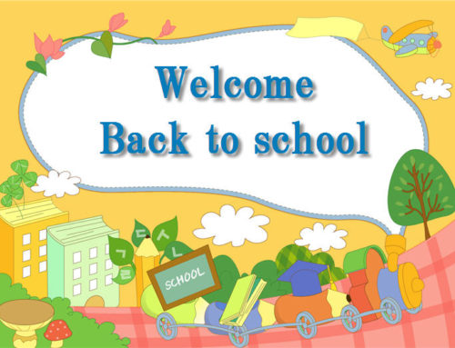 Back to School 2019 !