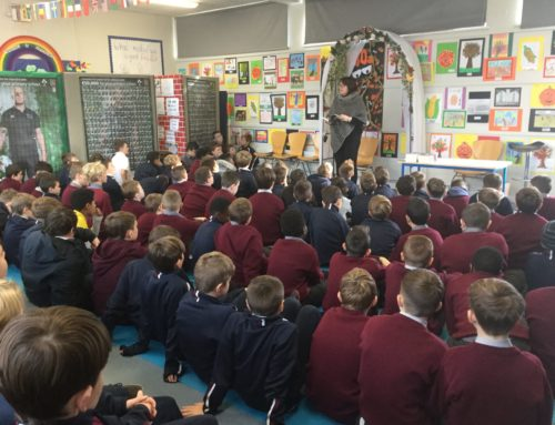 📚 A visit from Author-Olive Mooney 📚