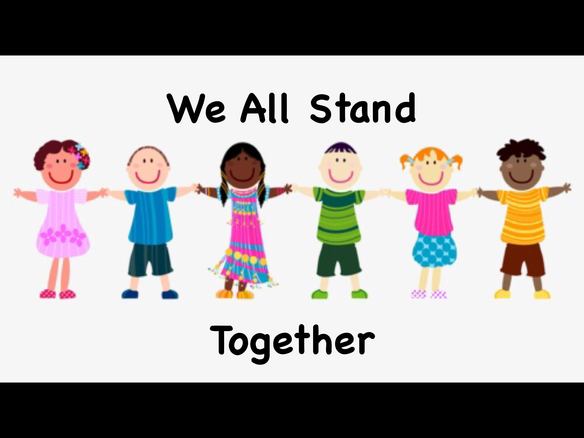 👩🏾‍🤝‍👨🏿 We All Stand Together 👩🏽‍🤝‍👨🏼